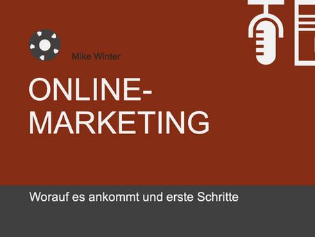 Online-Marketing: Erste Schritte  und wie setze ich ein Online-Marketing auf?