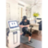 EMS training Hometraining service available at Impulse Fitness