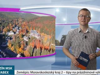 Zeměpis 2: Moravskoslezský kraj - tipy na prázdniny
