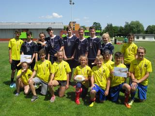 Velký úspěch v tag rugby