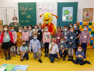 První školní den našich prvňáčků