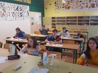Biologická olympiáda – školní kolo