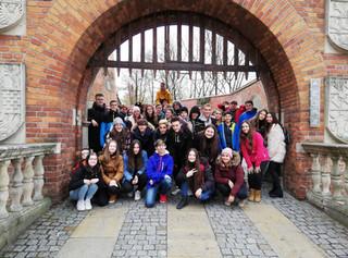 Deváťáci navštívili Osvětim a Krakov