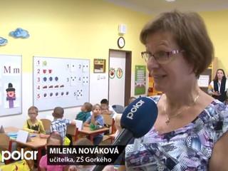 Reportáž z prvního školního dne