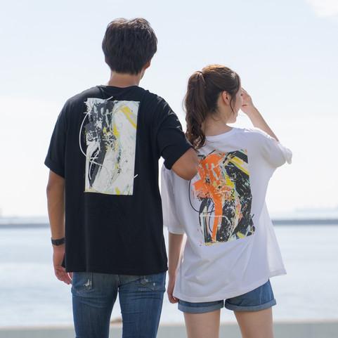 SHIORI AIBA × YUH TAKUNO Birth Anniversary T-shrit