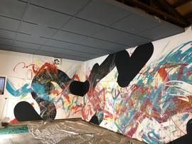 SENKENSETSU Mural art