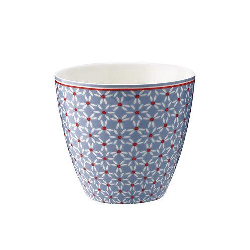 Latte cup Juno dusty blue
