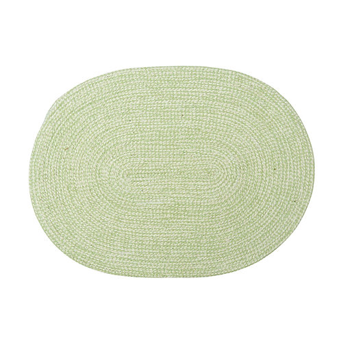 Platzset oval pale green