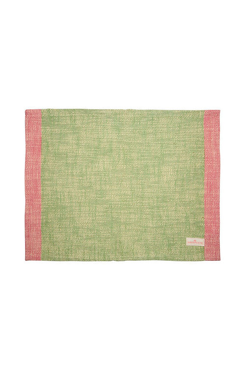 Placemat Minna pale green
