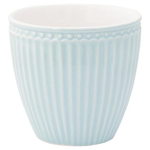 Latte cup Alice pale blue