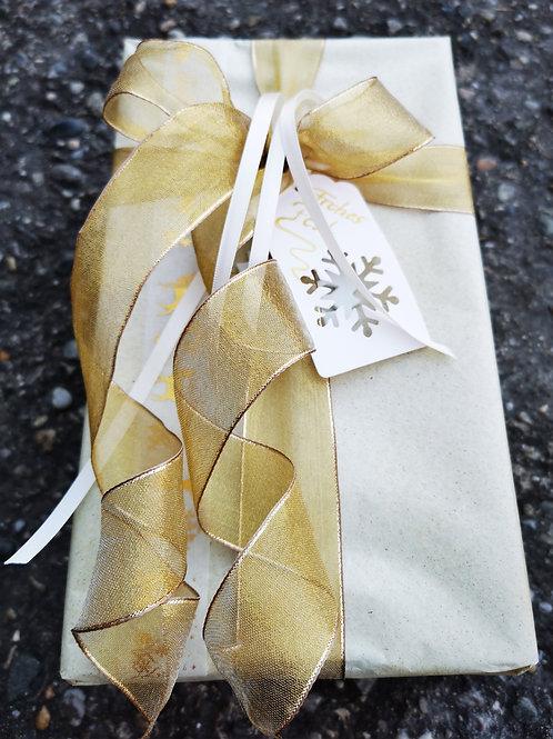 Weihnachtliche Geschenkverpackung