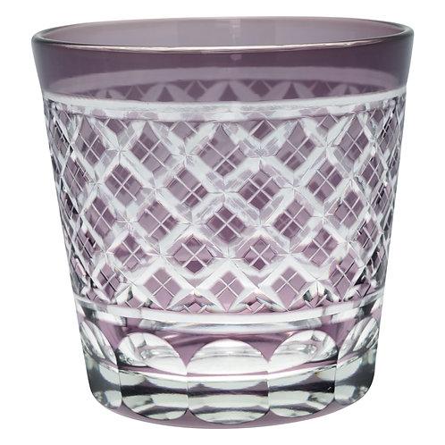 Wasserglas Cross Lavendar Crystal medium