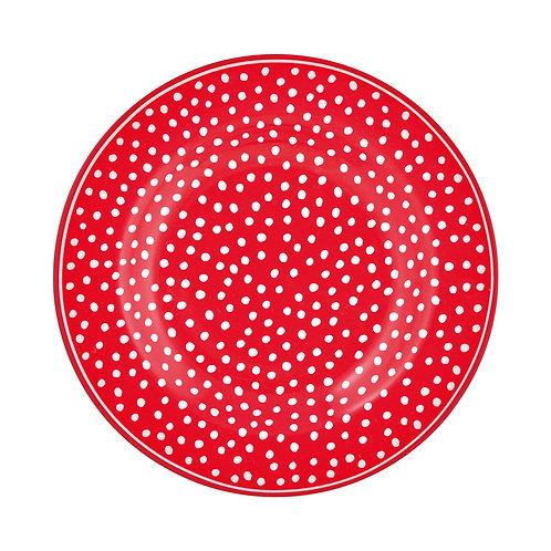 Teller Dot red