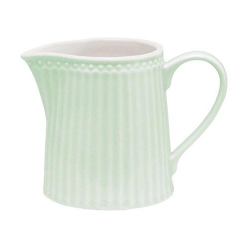 Milchkännchen Alice pale green