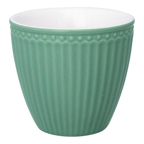 Latte cup Alice dusty green