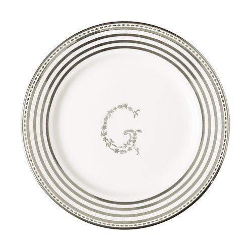 Kleiner Teller G Silber