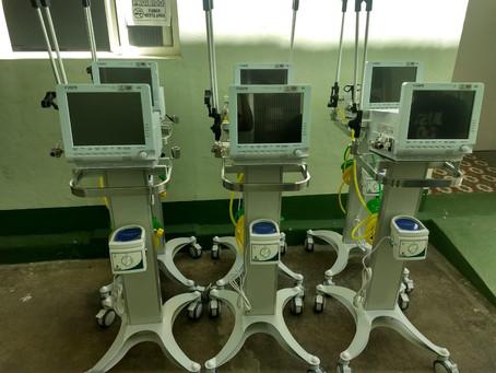 6 Novos Respiradores