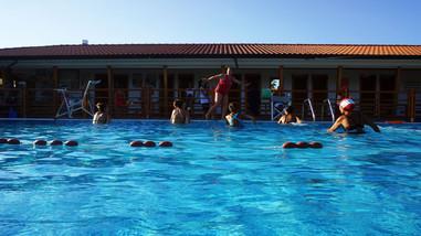 Corso di nuoto.