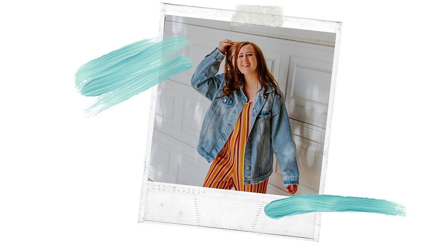Copy of Blue Brushstroke Moms Influencer