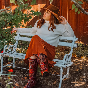 Thrifty Thursday: Fall Colored Fashion Finds