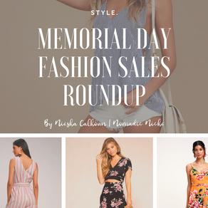 Memorial Day Fashion Sales Roundup