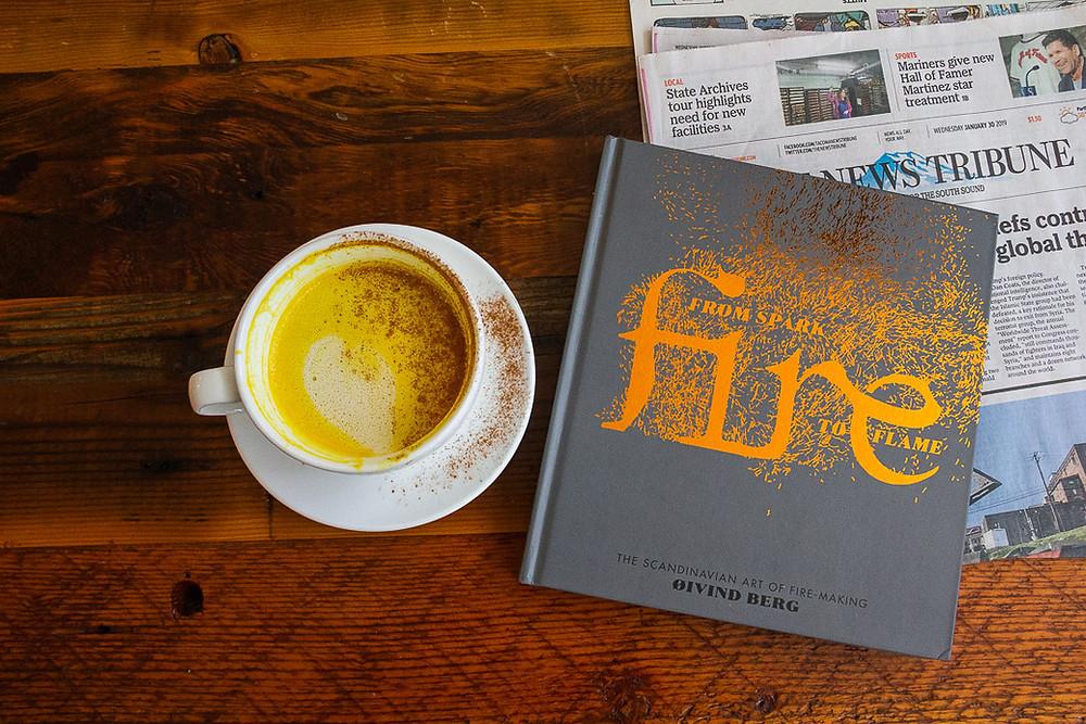 #goldenmilklatte #embergoods #coffee