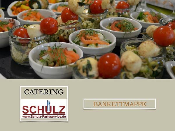 Catering Schulz Bankettmappe