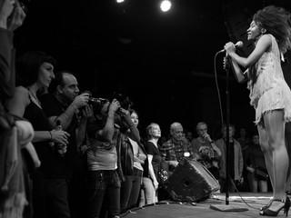 """Koko-Jean Davis y """"The Excitements"""" en la Sala Sol."""