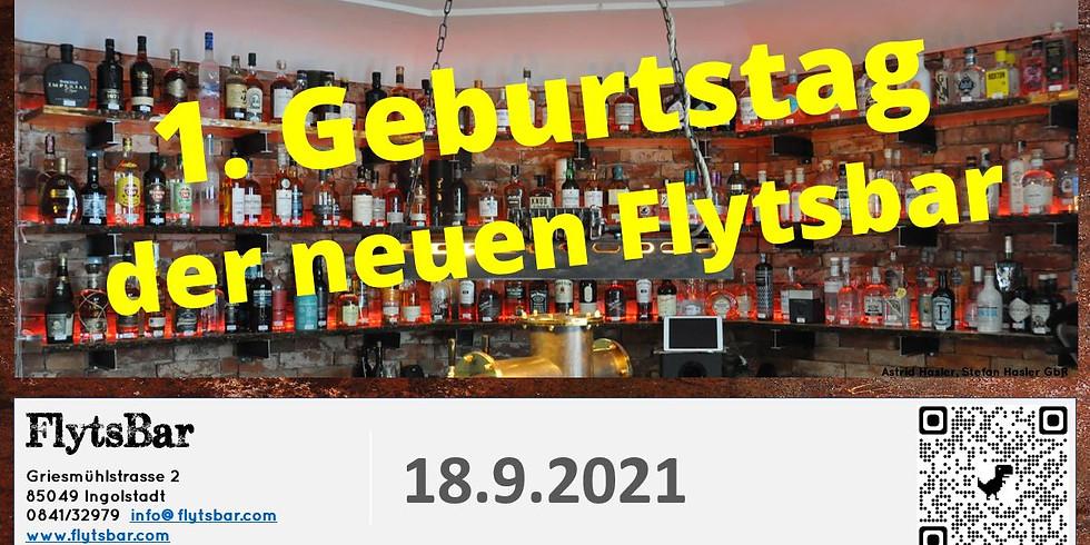 erster Geburtstag der neuen FlytsBar