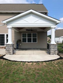 Porch addition 1
