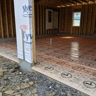 radiant garage floors