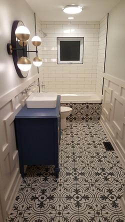Double Bathroom Remodel