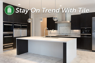 Stay On Trend With Tile