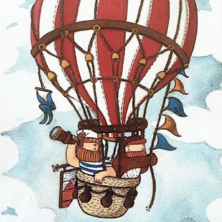 Hot Air Balloon by NAKI
