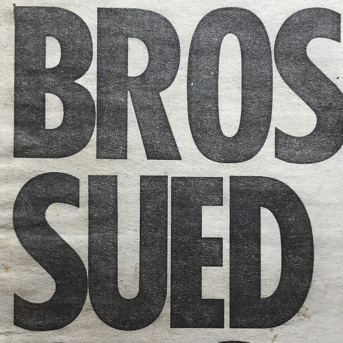 THE SUN Newspaper Article featuring BROS Are Sued March 28 1990