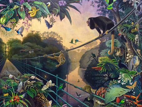 Artist Deirdre Hyde Presents Magnificent New Painting
