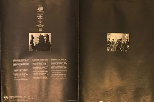 JANET JACKSON Billboard Magazine RHYTHM NATION 1814 PROMOTIONAL ITEM 1989