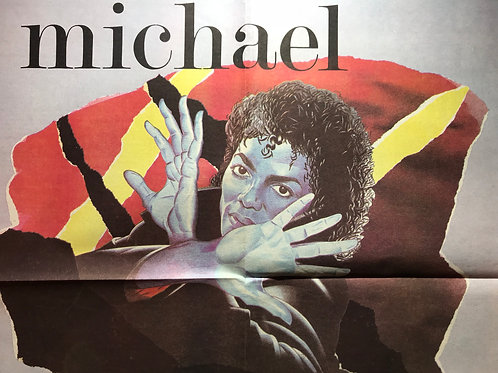 1983 Sep NEW MUSICAL EXPRESS Newspaper Article MICHAEL JACKSON NME