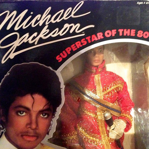 1984 American Music Awards Outfit MICHAEL JACKSON DOLL with ORIGINAL BOX VGC