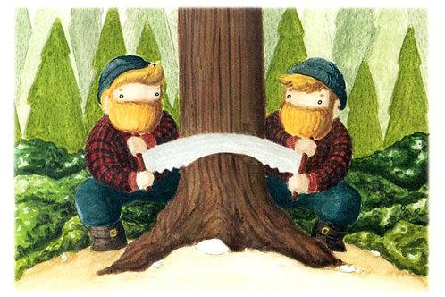 'Twins' Beardy Bears by NAKI