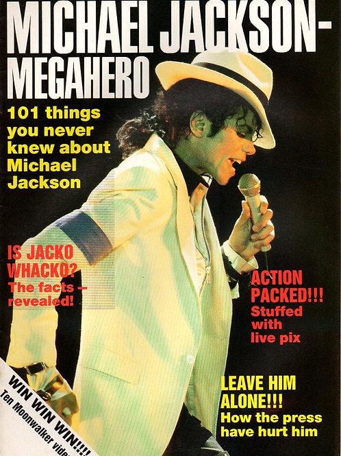 1989 MEGAHERO MICHAEL JACKSON Collector's Magazine UK