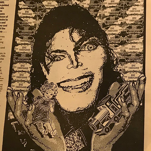 1992 NME 'IT'S SONY ROCK 'N' ROLL' MICHAEL JACKSON NEWS ARTICLE JANUARY