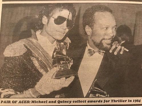 1990 'Big Split As Top Partnership of Pop Turns Bad' MJ Mail on Sunday