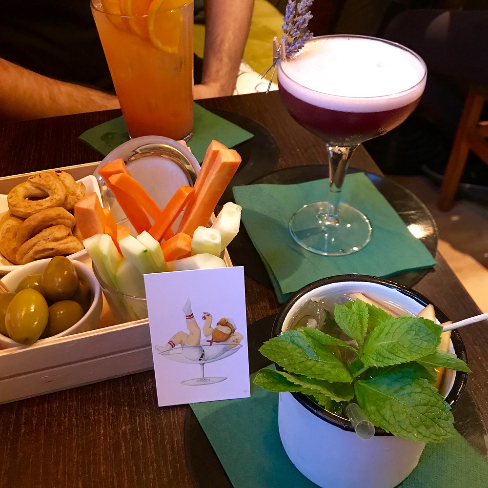Happy Hour at EGO drinks at EGO Bar, Milan