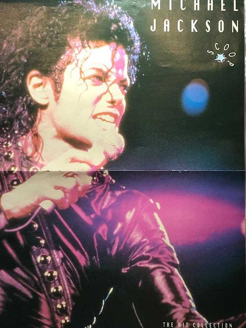 1992 MICHAEL JACKSON poster from SCOOP Magazine RARE UK
