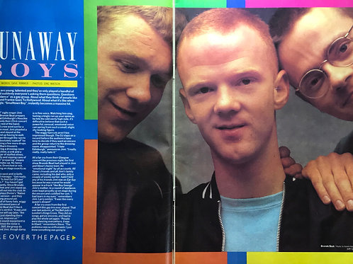 SMASH HITS JULY 1984 BRONSKI BEAT