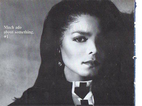 JANET JACKSON Rhythm Nation Billboard Magazine Article OCT 1989 RARE COLLECTABLE