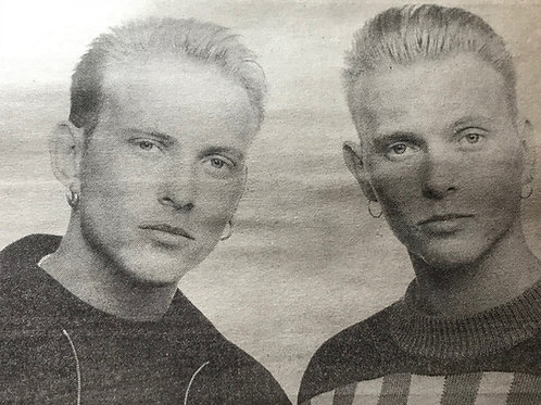 THE SUN Newspaper Article featuring BROS, Madonna April 1990