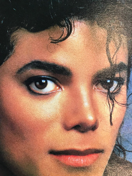 1988 November SMASH HITS UK Magazine Poster MICHAEL JACKSON