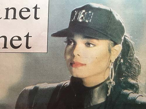 SATURDAY STAR News Article feat. JANET JACKSON Oct 27 1990